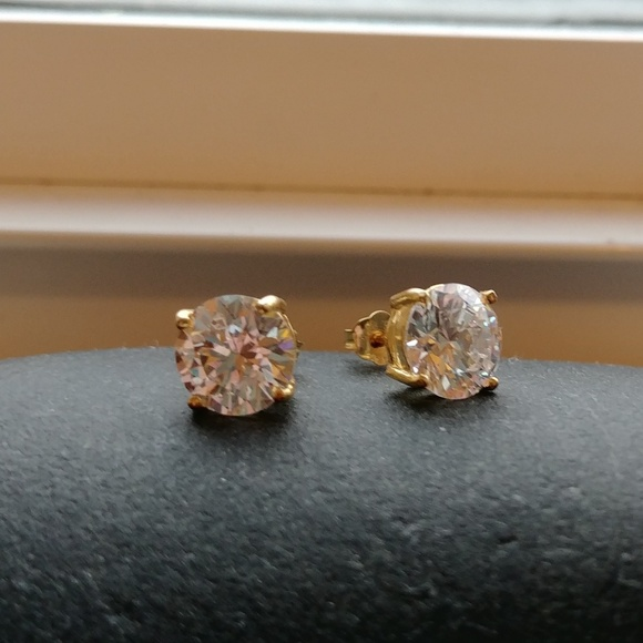 bdc8eae05 Giani Bernini Jewelry - Giani Bernini Cubic Zirconia 18K Gold Earrings